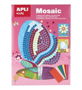 KIT MOSAIQUE MOUSSE EVA 2F PRINTEMPS